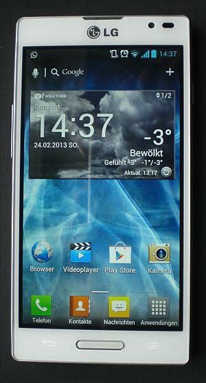 LG Optimus L9 - Image: LG Optimus L9