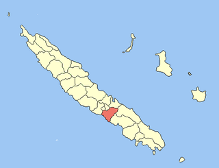 La Foa Commune in New Caledonia, France
