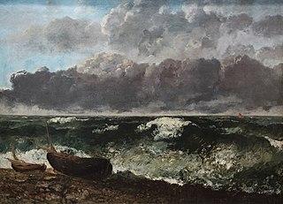 Stormy sea\