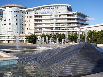 "Les Minimes - The ""Porte Océane"", an upscale urban development in Les Minimes."