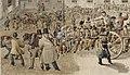 La prison de Bicêtre à Gentilly. Le départ de la chaîne des forçats - Gabriel Cloquemin.jpg