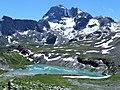 Lac blanc et pointe de l'échelle 2013.JPG