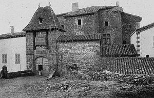 Château du Sou - The castle in 1901-1902