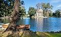 Laghetto and Tempio di Esculapio in Villa Borghese 01.jpg