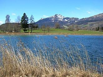 Antey-Saint-André - Lod lake