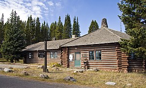 Daniel Ray Hull - Lake Ranger Station, Yellowstone National Park