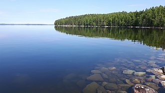 Saimaa - Karelian Country Cottages. Lake Saimaa, Finland.
