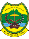 Official seal of Lingga Islands