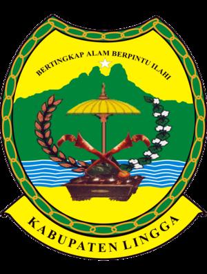 Lingga Islands - Image: Lambang Kabupaten Lingga