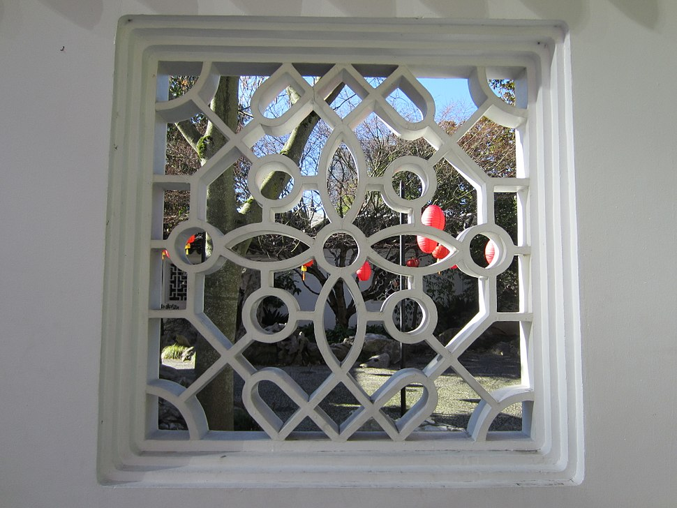 Lan Su Chinese Garden, Portland, OR 2012 - window