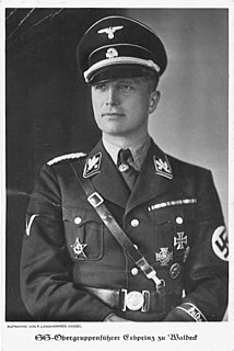 Josias, Hereditary Prince of Waldeck and Pyrmont German politician (NSDAP), MdR, SS-Obergruppenführer and General of the Waffen-SS (1896-1967)