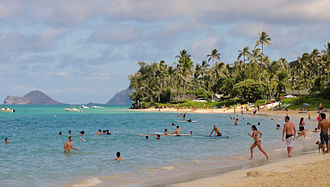 Lanikai Beach Lanikai beach culture.JPG