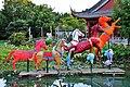 Lantern horses in Chinese Garden - panoramio.jpg
