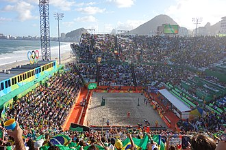 Beach volleyball at the Summer Olympics - Olympics 2016 tournament.