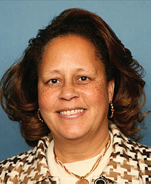 Laura Richardson, official portrait, 111th Congress.jpg