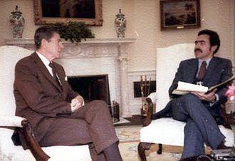 Laurence I. Barrett - Interviewing Ronald Reagan in 1981