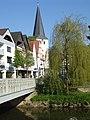 Laurentiuskirche mit Bolldammbrücke.JPG
