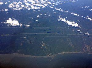 Le Massif - Image: Le Massif Overhead