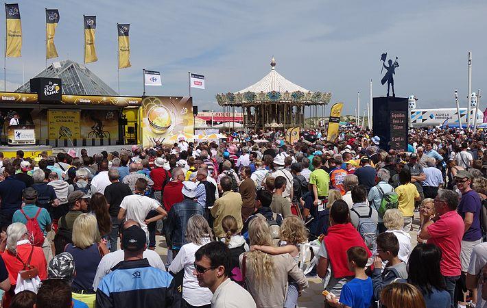 Le Touquet-Paris-Plage - Tour de France, étape 4, 8 juillet 2014, départ (B016).JPG
