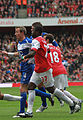 Lee Bowyer, Emmanuel Eboue and Sebastien Squillaci (5089380285).jpg