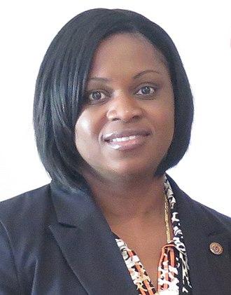 Prime Minister of Sint Maarten - Leona Marlin-Romeo