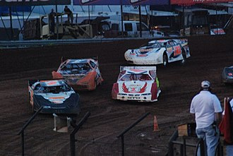 World of Outlaws Late Model Series - Image: Lernerville WOOLM 5