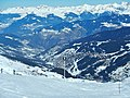 Les 3 Vallées, View direction Meribel - panoramio.jpg