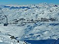 Les 3 Vallées, View from Cime de Caron to Val Thorens - panoramio.jpg