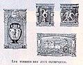 Les timbres officiels des Jeux Olympiques de 1896.jpg