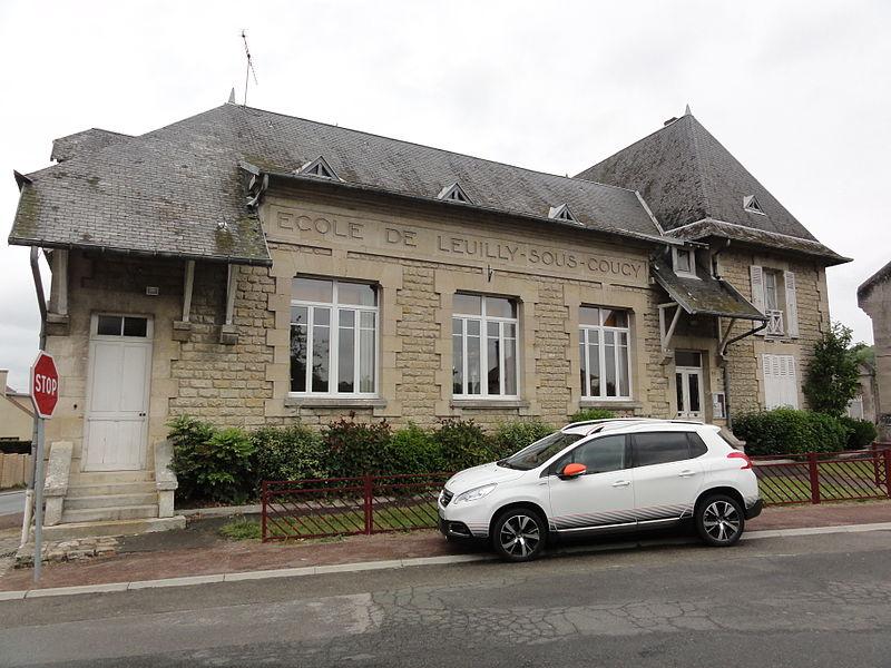 Leuilly-sous-Coucy (Aisne) école