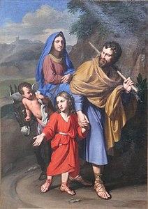 MÉDITATIONS CHRÉTIENNES POUR TOUTE L`ANNÉE - Pere Buse`e - Cie de Jésus - année 1708 212px-Levieux-Retour_d%27Egypte-Viviers