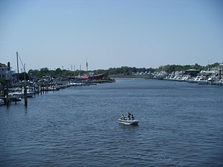 Lewes and Rehoboth Canal canal in Delaware, United States of America