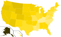 Libertarian Party presidential election results, 1980 (United States of America).png