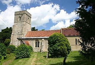 Lidgate village in United Kingdom