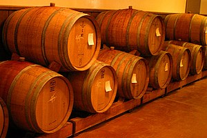 Barrel - Wine barrels in Napa Valley, California