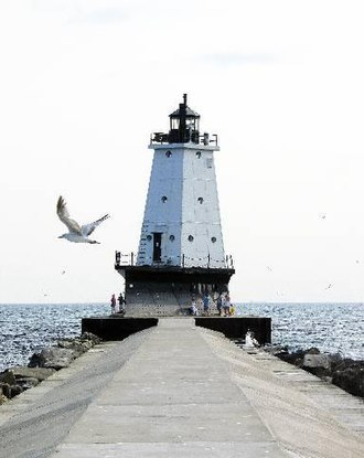 Ludington, Michigan - Ludington Light