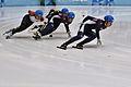 Lillehammer 2016 - Short track 1000m - Men Semifinals - Daeheon Hwang, Shaoang Liu, Kazuki Yoshinaga and Kyunghwan Hong 1.jpg