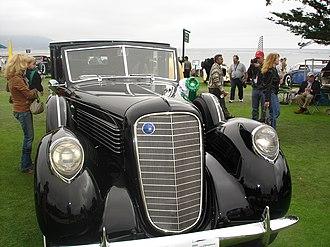 Lincoln K-series - 1937 Lincoln K-series towncar