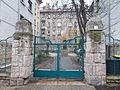 Listed building. Yard's gate. - 2 Margaréta street Budapest XII.JPG