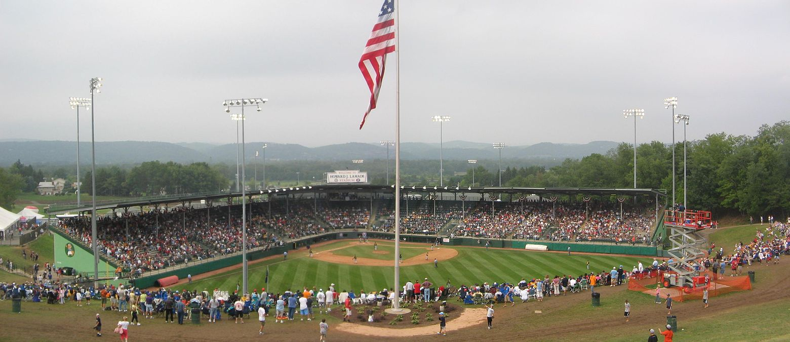 Le terrain de South Williamsport où se disputent les Little League World Series