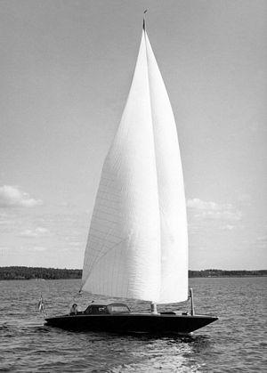 Fredrik Ljungström - Ljungström sailboat, 1950. USPTO No. 2107303, February 8, 1938.