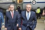 Llegada de Scott Morrison, primer ministro de Australia (45198522685).jpg