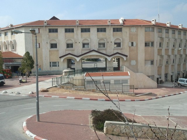 Local Council of Kiryat Arba Hebron building-backside