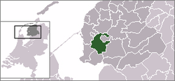 Location of Wymbritseradeel