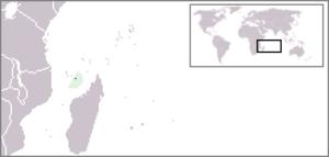 Grande-Terre (Mayotte) - Image: Location Mayotte
