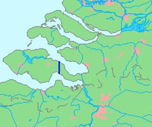 Canal through Zuid-Beveland