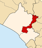 Location of the province Ferreñafe in Lambayeque.png
