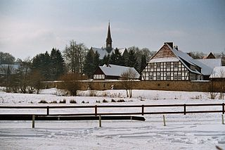 Loccum village in Germany