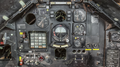 Lockheed F-117A Nighthawk, National Museum of the United States Air Force, Wright-Patterson Air Force Base, near Dayton, Ohio, USA, instrument panel detail.png