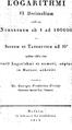 Logarithmi VI decimalium scilicet - title.png